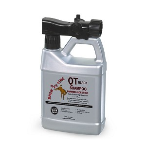 QT Shampoo Black Foaming Solution 32 oz